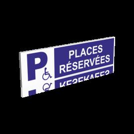 Places réservées handicapés
