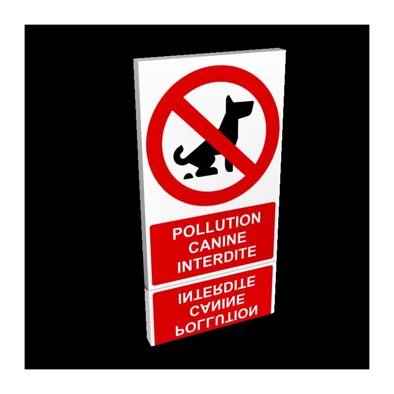 Pollution canine interdite