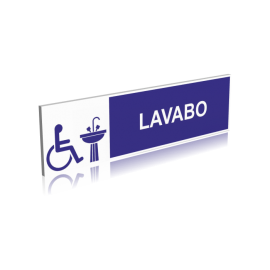 Lavabo pour personne handicapé