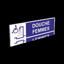Douche dame handicapée