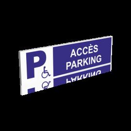 Accès parking handicapés