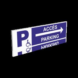 Accès parking droite
