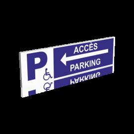 Accès parking gauche