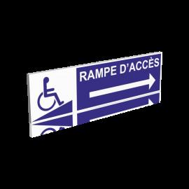 Rampe d'accès droite