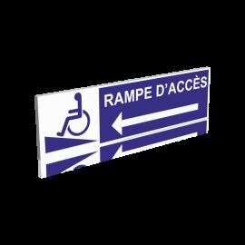 Rampe d'accès gauche