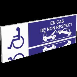 Parking Handicapés - Risque d'enlèvement