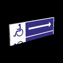 Cheminement handicapés - Droite
