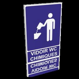 Vidoir wc chimiques