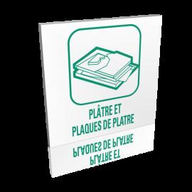 Recyclage plâtre et plaques de plâtre