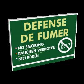 Entrée  Défense de fumer