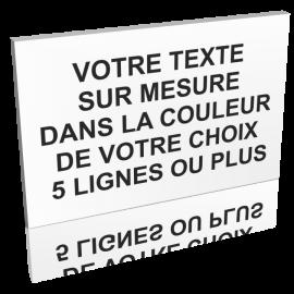 texte sur mesure