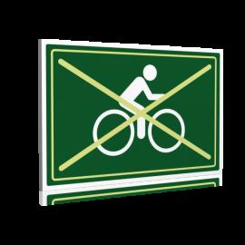 Entrée  Interdit aux vélos