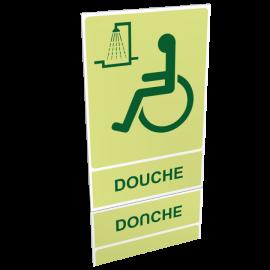 Douche handicapé