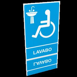 Lavabo handicapé