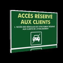 Accès réservé aux clients