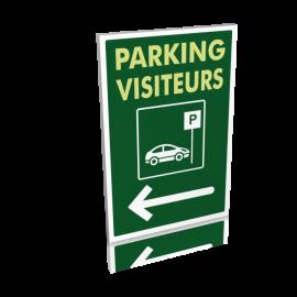 Parking visiteurs gauche