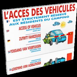 L'accès des véhicules