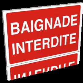 Baignade interdite
