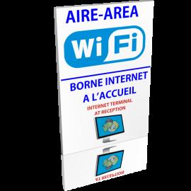 Entrée  Aire Wifi