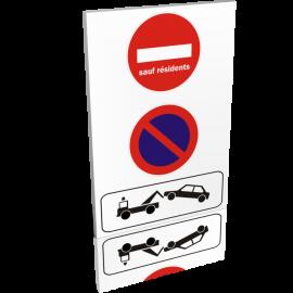 Entrée  Interdiction de stationner