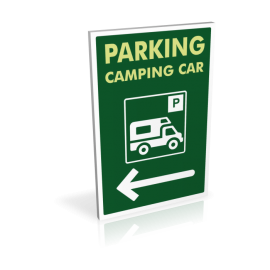 Parking camping-car - gauche