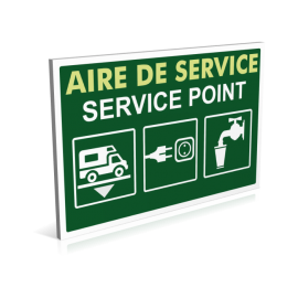 Aire de service camping-car