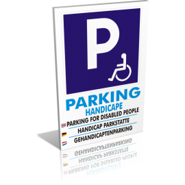 Parking handicapé