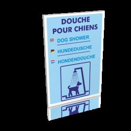 Douche pour chiens