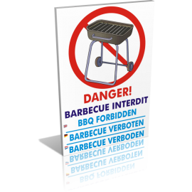 Danger barbecue interdit
