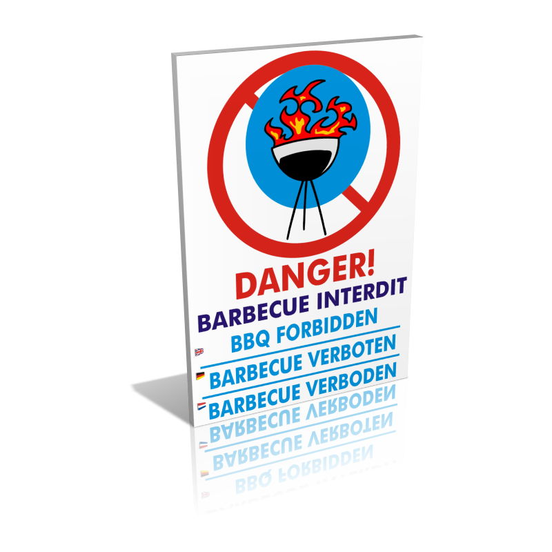 Danger barbecue interdit