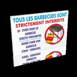 Tous les barbecues sont strictement interdits