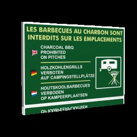Les barbecues au charbon de bois sont interdits