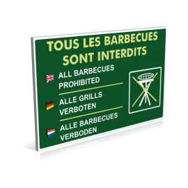 Tous les barbecues sont interdits