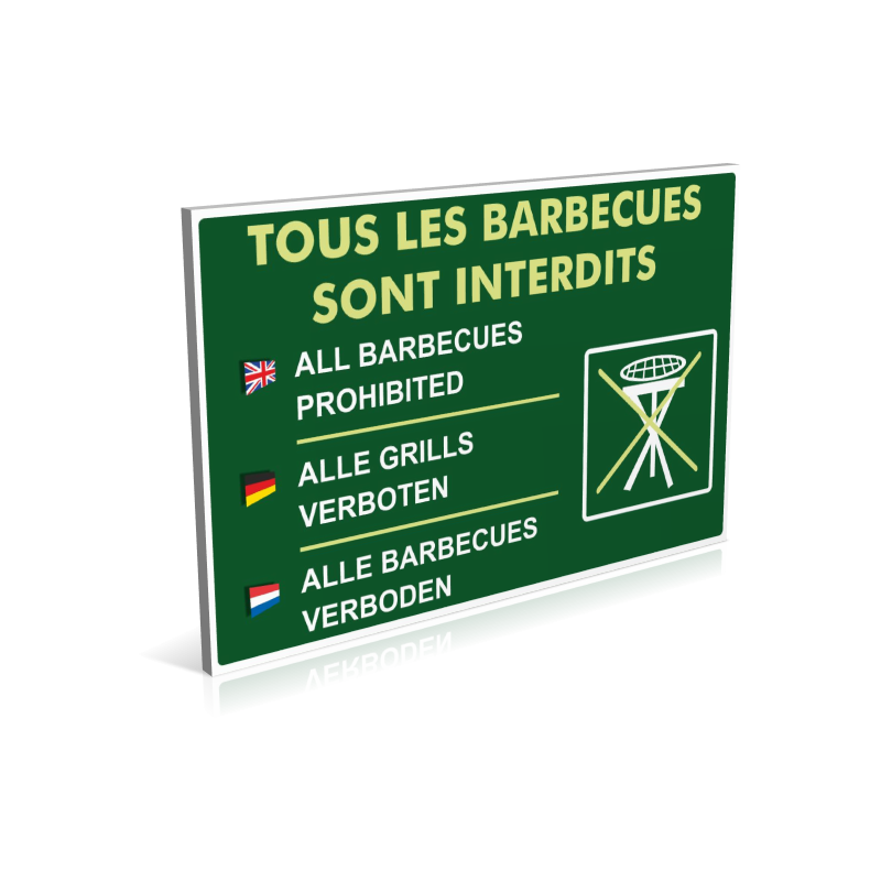Tous les barbecues sont interdits