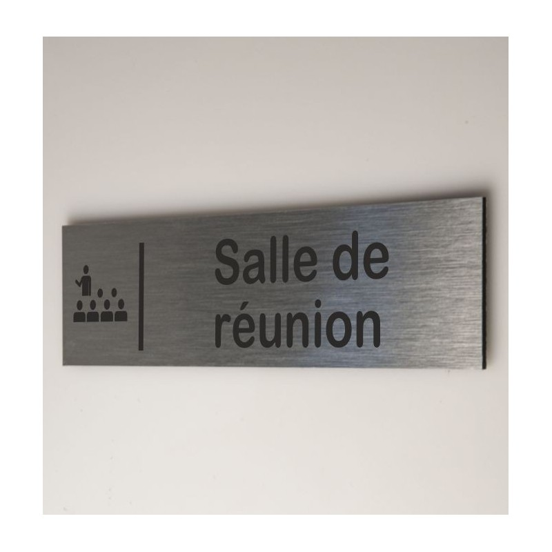 Plaque salle de réunion