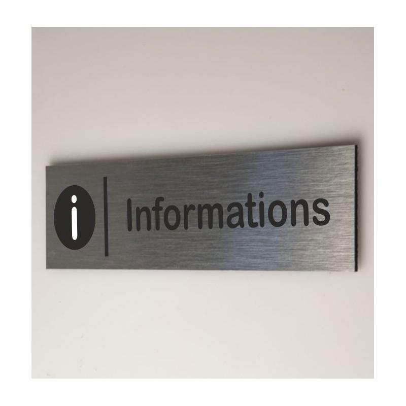 Signalétique  informations
