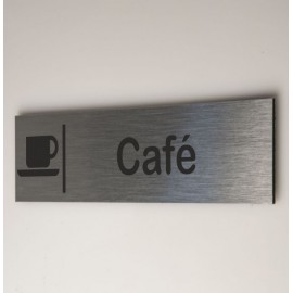 Signalétique café
