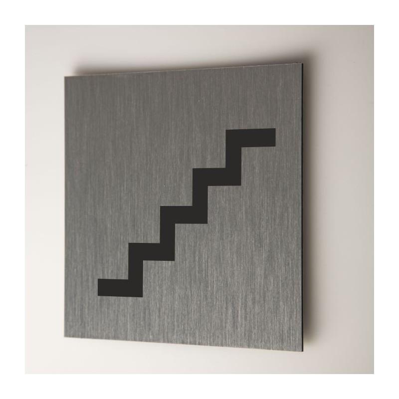 Plaque escaliers