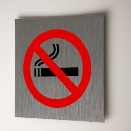 Plaque interdiction de fumer