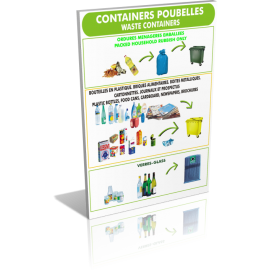 Containers poubelle verre