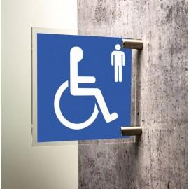 Toilettes handicapés hommes
