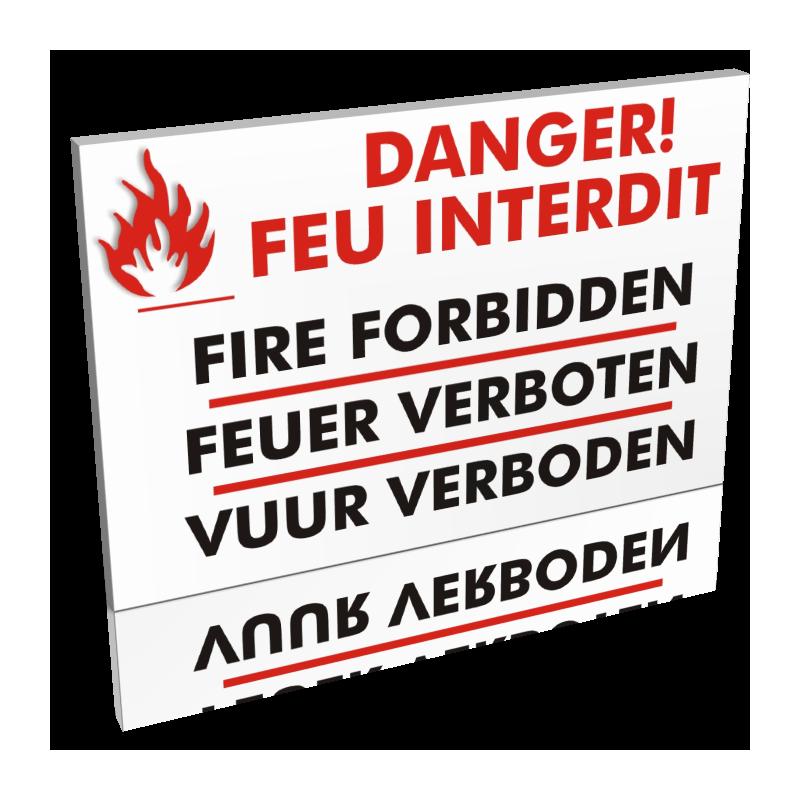 Danger! Feu interdit