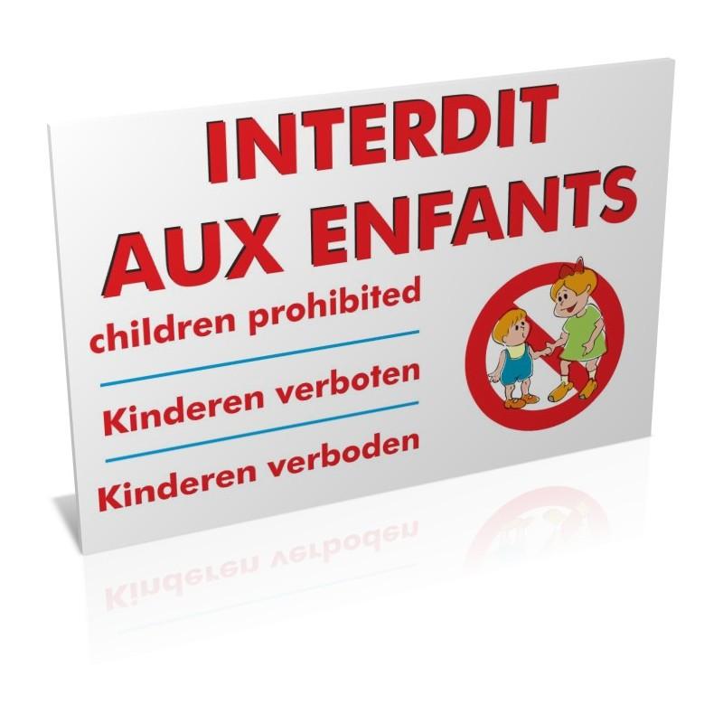 Interdit aux enfants