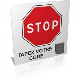 Stop tapez votre code