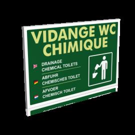 Sanitaires  Vidange wc chimique