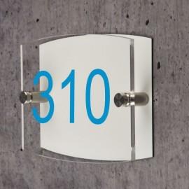 Numéro de maison arc