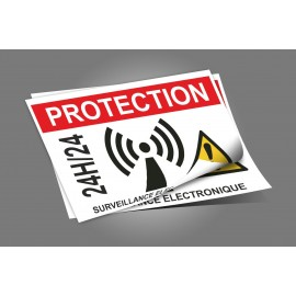 Adhésif protection 24H /24 - lot de 24
