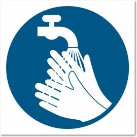 Lavage des mains obligatoire