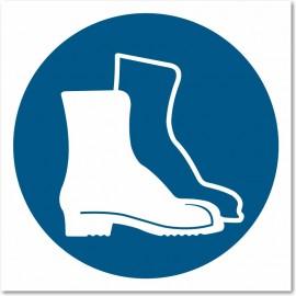Port obligatoire des chaussures de sécurité