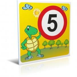 5 km/heure tortue